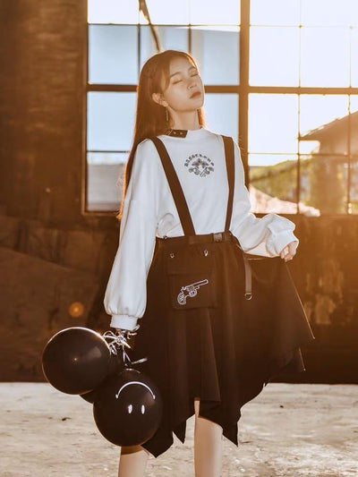 Vampire Hunter Sweatshirt & Skirt-Sets-ntbhshop