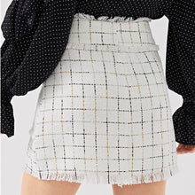 Load image into Gallery viewer, Tweed Double Breasted Skirt Set