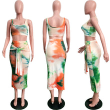 Load image into Gallery viewer, Tameka's Tie Dye Skirt Sets