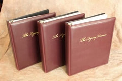 Package of 3 Deluxe Document Organizers - Burgundy