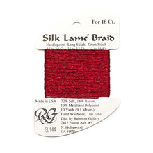 Load image into Gallery viewer, Silk Lame` Braid Petite     SP200 - SP300