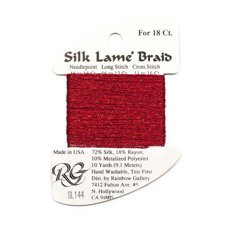 Silk Lame` Braid Petite     SP200 - SP300