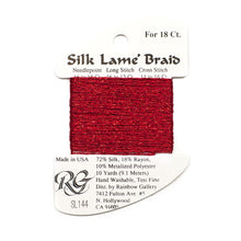 Load image into Gallery viewer, Silk Lame` Braid 18    SL01 - SL99