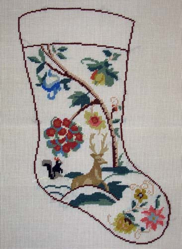 Jacobean Stocking