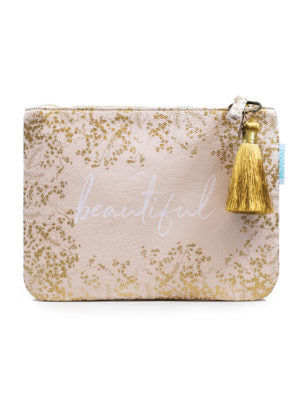 Gilded Flowers Pocket Clutch
