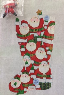 Simple Santa Stocking