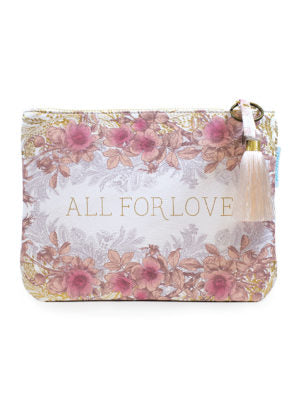 All For Love Pocket Clutch