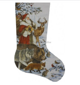 Woodland Christmas Stocking