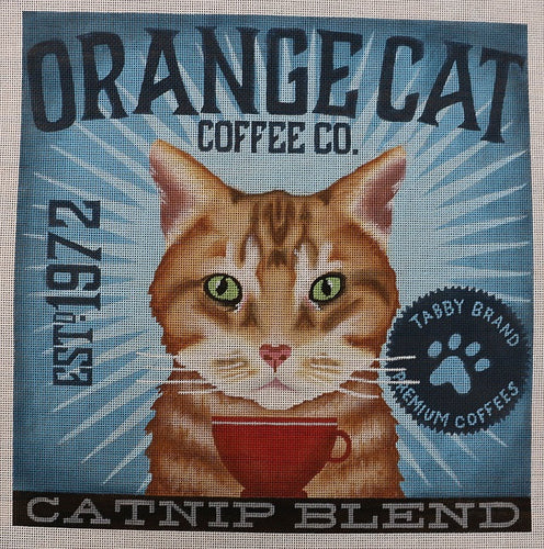 Orange Tabby - Catnip Blend