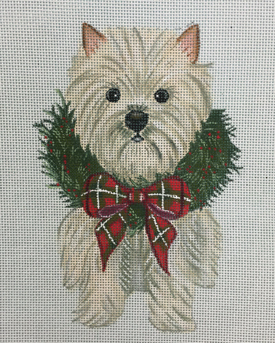 Holiday Westie standup