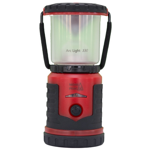 Mons Peak IX Arc Light 330 Rechargeable LED Lantern - Ultra Light, Super Compact