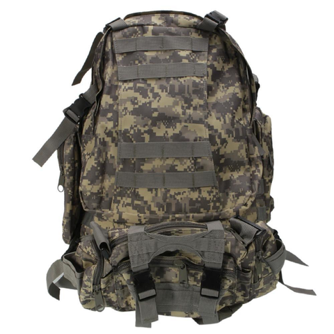 Military Style Outdoor Durable 55L Waterproof Backpack