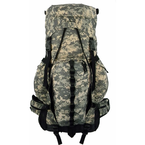 Expandable 6000cc-8000cc Hiking Backpack