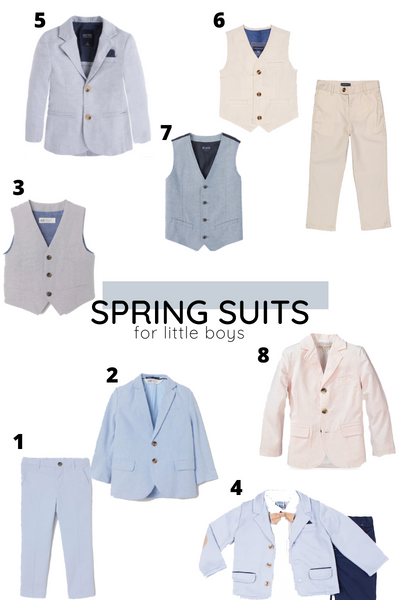 Affordable Boys' Suits