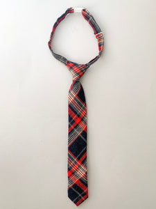Polar Plaid Boys Tie