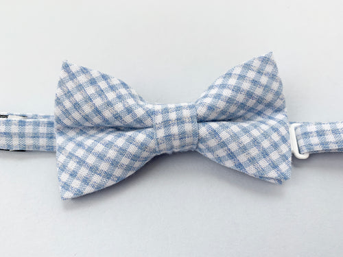 Basket Blue Bow Tie