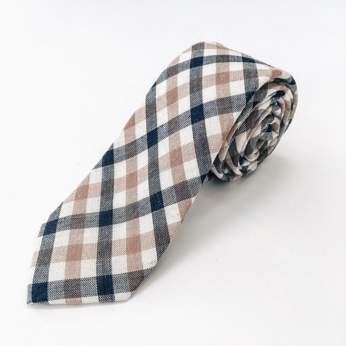 Washington Plaid Tie