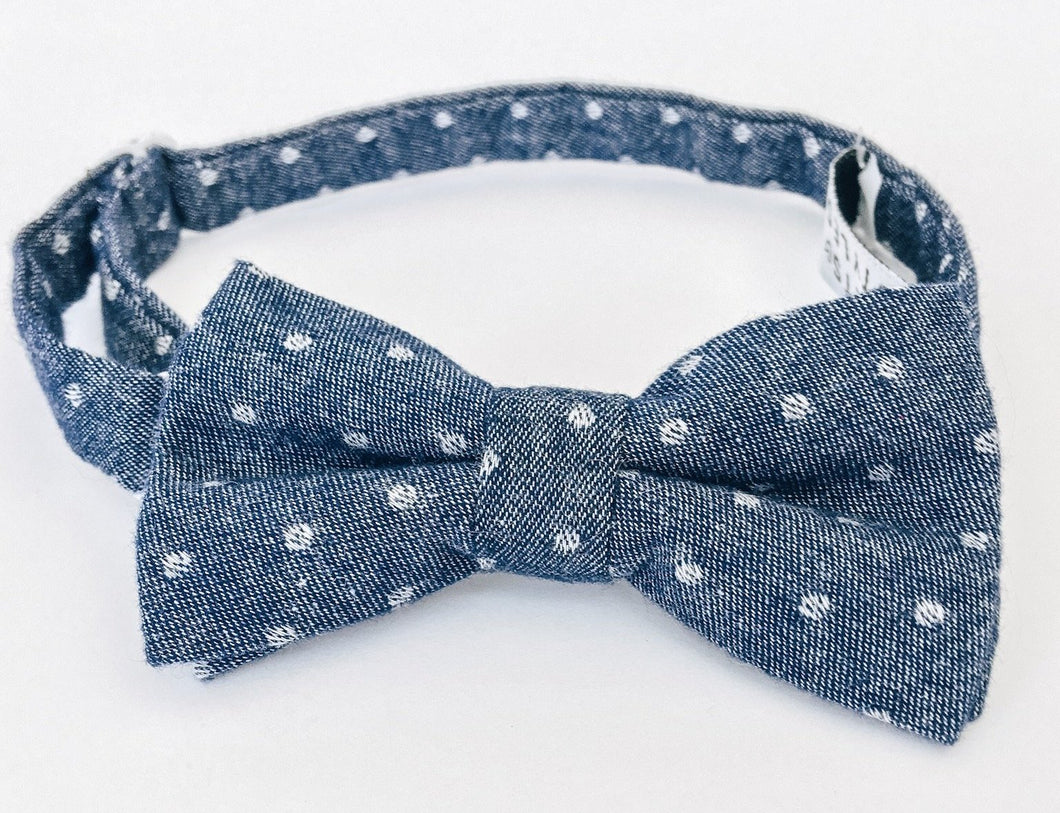 Springs Chambray Bow Tie