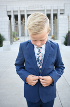 Load image into Gallery viewer, Albion Floral Boys Tie