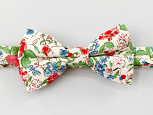 Load image into Gallery viewer, Strawberry Floral Bow Tie