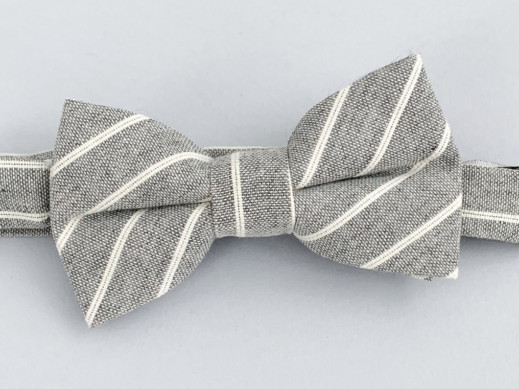 Summit Stripe Bow Tie