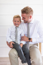 Load image into Gallery viewer, White Pines Wool Boys Tie