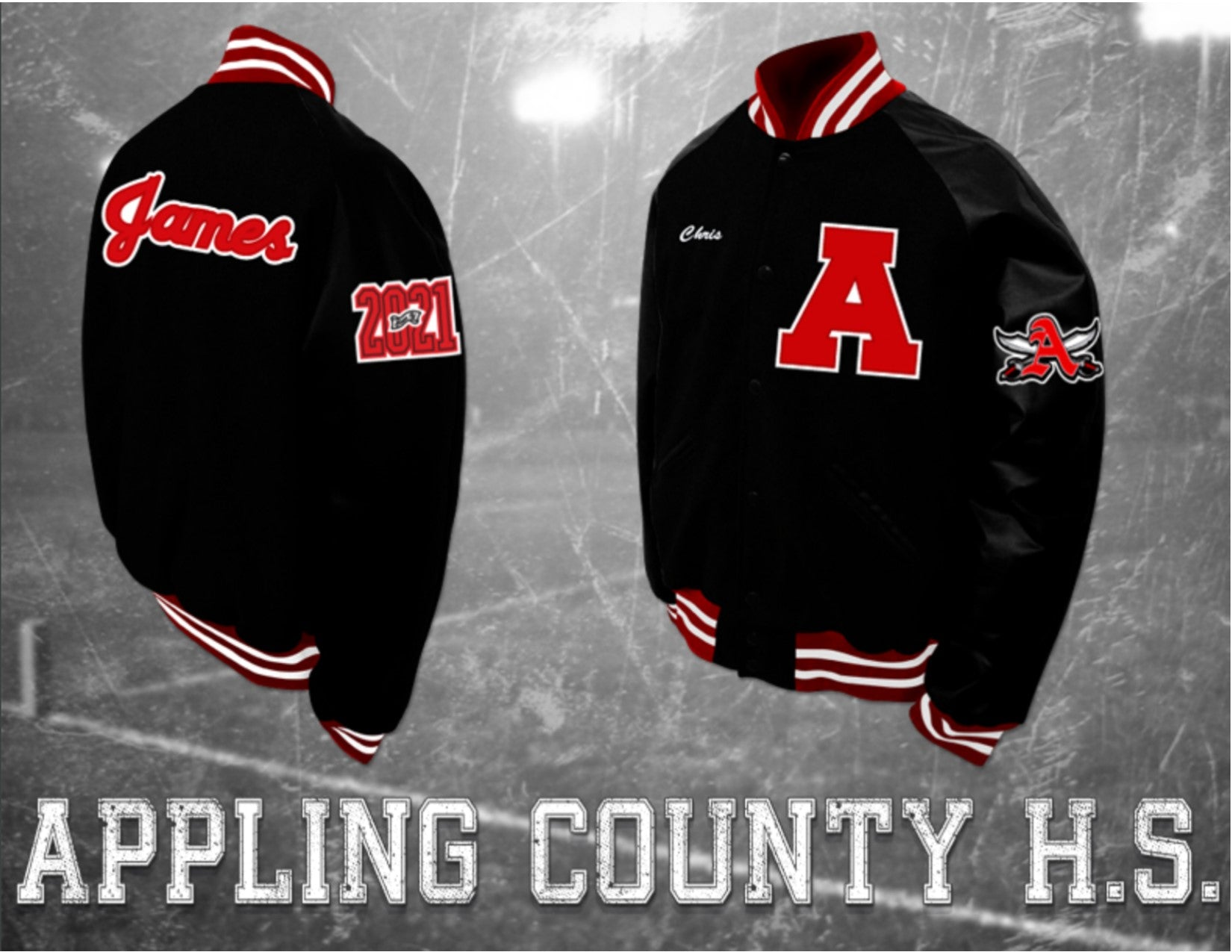 Appling County Letterman Jacket