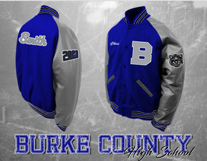 Burke County Letterman Jacket