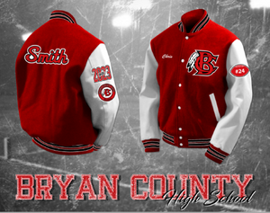Bryan County Letterman Jacket