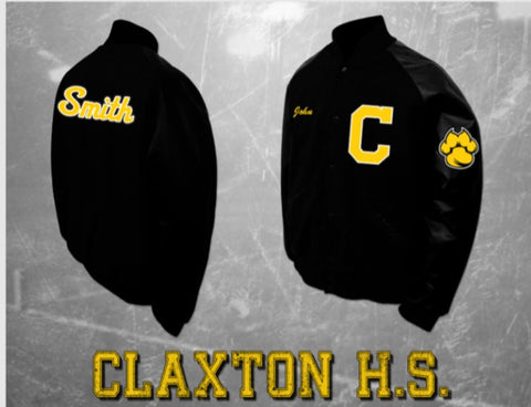Claxton Letterman Jacket