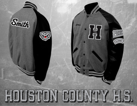 Houston County Band Letterman Jacket