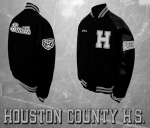 Houston County Athletic Letterman Jacket