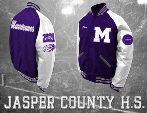 Jasper County Letterman Jacket