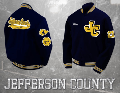 Jefferson County Letterman Jacket