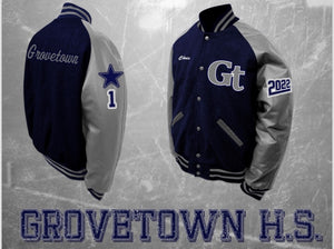 Grovetown Letterman Jacket