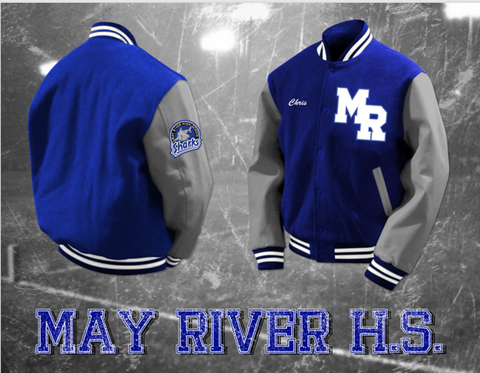 May River Letterman Jacket