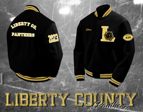 Liberty County Letterman Jacket