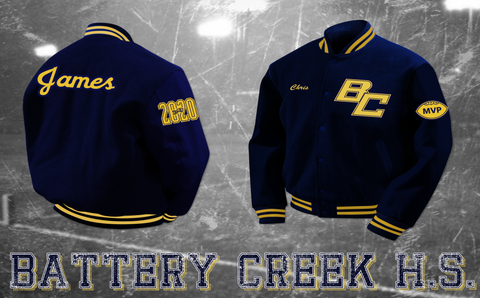Battery Creek Letterman Jacket