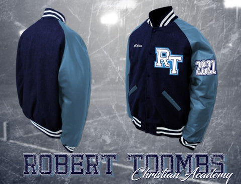 Robert Toombs Christian Academy Letterman Jacket