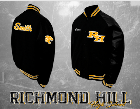 Richmond Hill Letterman Jacket