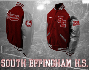 South Effingham Letterman Jacket