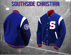 Southside Christian Letterman Jacket