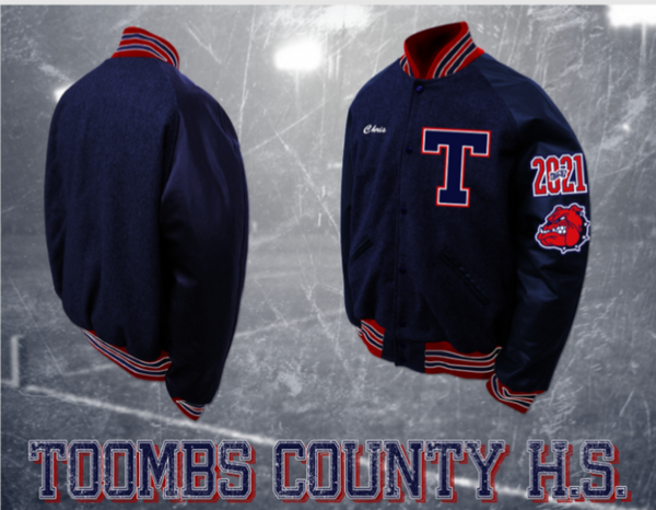 Toombs County Letterman Jacket
