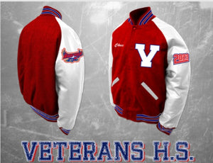 Veterans Traditional Letterman Jacket