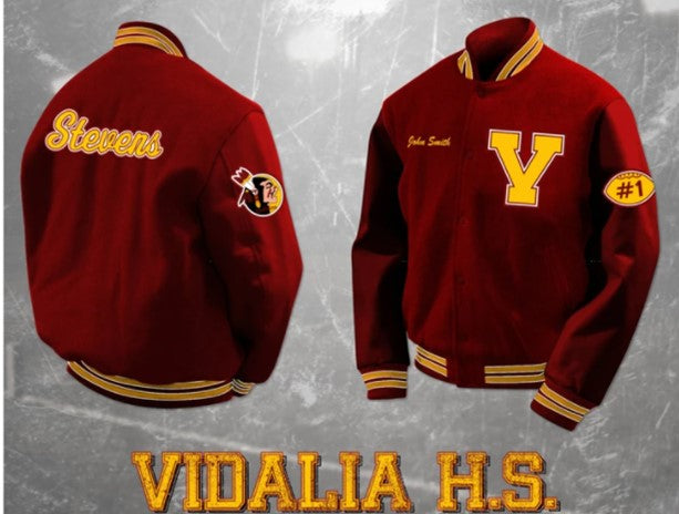 Vidalia Letterman Jacket