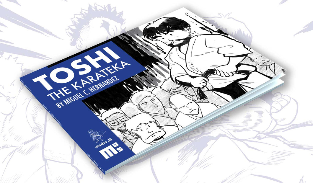 Toshi-The Karateka Softcover