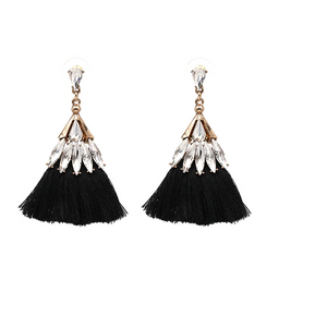Springtime Earrings in Black-Fox & Fierce