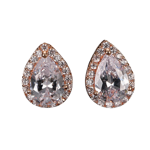 Celia Stud Earring - Rose Gold