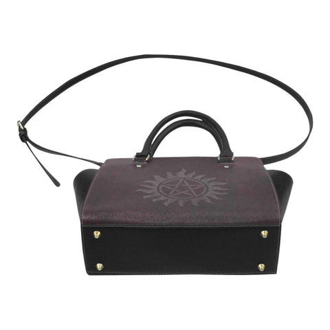 Supernatural Leather Shoulder Bag