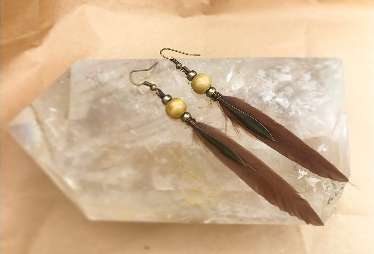 Brown & Tan Feathers